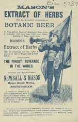 Advert for Mason's Extract of Herbs 5289
